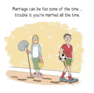 MTC16 - Married All The Time Funny Greeting Card
